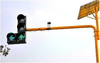 Camera driven traffic signal system