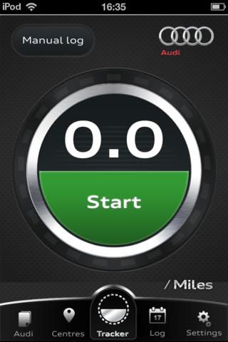 Audi Mileage Tracker