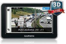 Garmin 3D live traffic