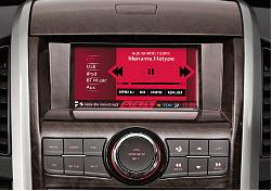 Mahindra Satyam infotainment solution
