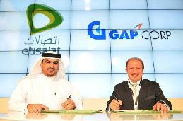 GAPCorp FNI signed a business partnership with Emirates Telecommunications