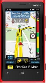 CoPilot GPS Navigation app for Windows 8