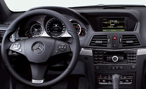 HARMAN infotainment system in Mercedes