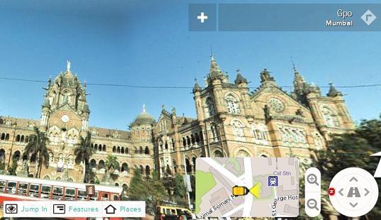 WoNoBo a panoramic street view of cities in India