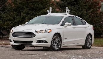Ford Fusion Hybrid Car