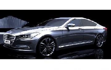 The 2015 Hyundai Genesis sedan