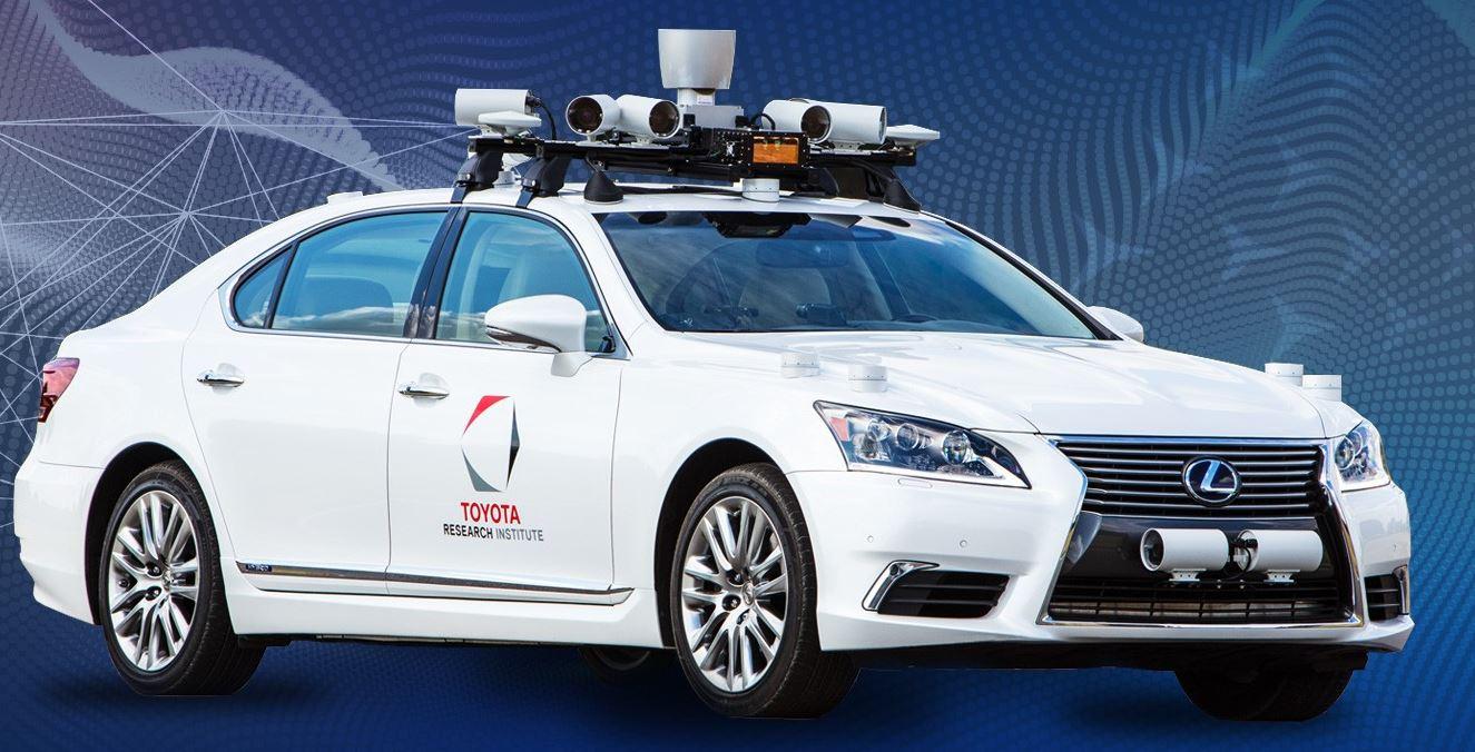 Toyota Research Institute >> Toyota Research Institute Tri To Test Autonomous Vehicle