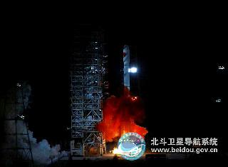 China Beidou launch