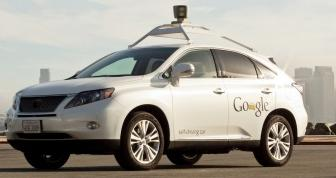 Driverless car from Google