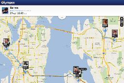 Glympse location sharing app