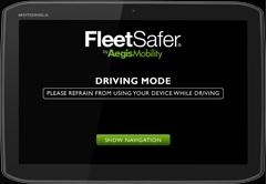Fleet Safer app from Aegis Mobility