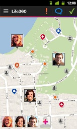 Life360 family location app