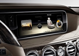 Mercedes-Benz S-Class multimedia infotainment