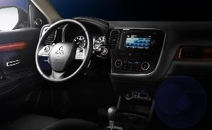 Mitsubishi HD Radio Navigation Platform