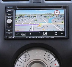 Renault Scala Travelogue navigation system