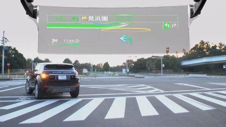 Pioneer laser display assisted navigation