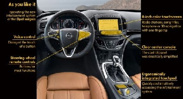 New infotainment system for Opel Insignia