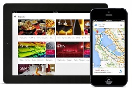 New version of google maps supports iPad
