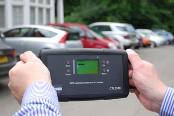 GPS jamming detector and locator system