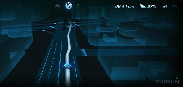 Garmin 3D navigation