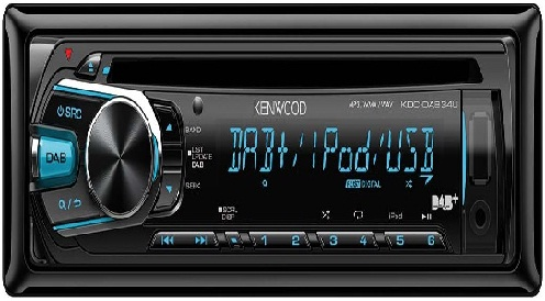 Kenwood in-car radio