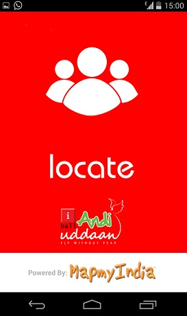 MapmyIndia Locate on iBall Andi Uddaan Smartphone