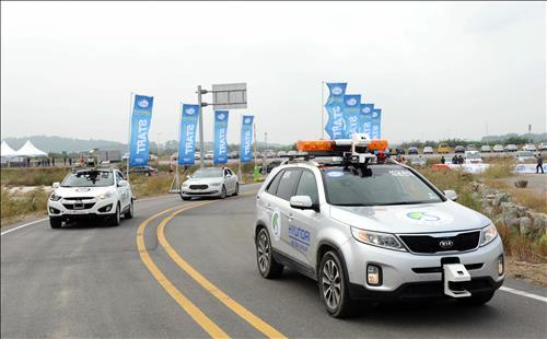 Hyundai-self-driving cars-Korea