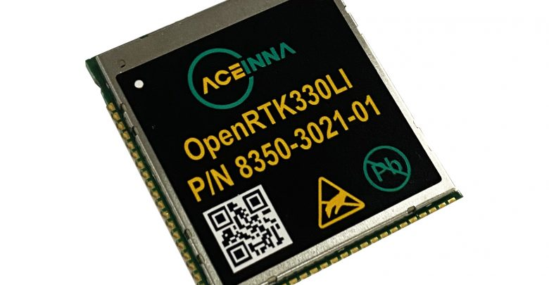 Photo of Press Release: ACEINNA Launches OpenRTK330L