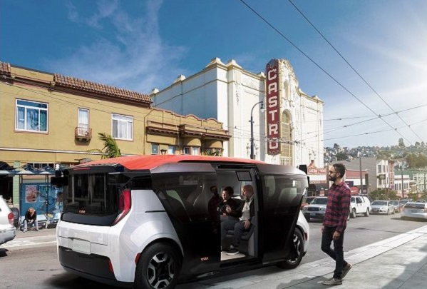 Photo of Cruise Unveils Origin, a Self-Driving Vehicle with No Steering Wheel or Pedals