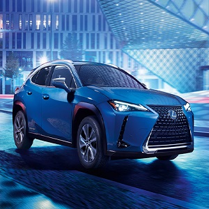 Photo of Lexus UX 300e, electric vehicle with 10 year battery warranty