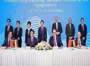 Volkswagen intensifies e-mobility activities in China