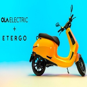 Ola Electric to launch its electric two-wheeler for global markets; acquires Amsterdam-based Etergo