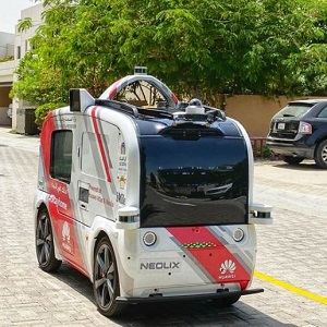 A self-driving vehicle to distribute personal protective equipment including masks, gloves and sanitizers