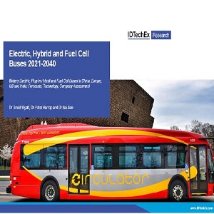 Electric, Hybrid, and Fuel Cell Buses 2021-2040