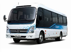 Hyundai Motor launches 'County Electric' minibus