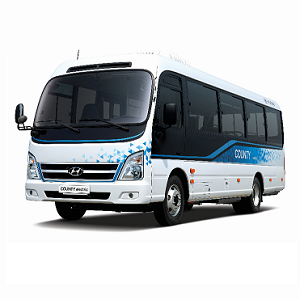Hyundai Motor launches 'County Electric' minibus