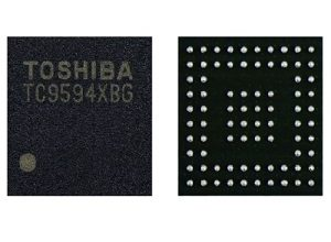 Photo of Toshiba's ICs for In-Vehicle Infotainment Systems