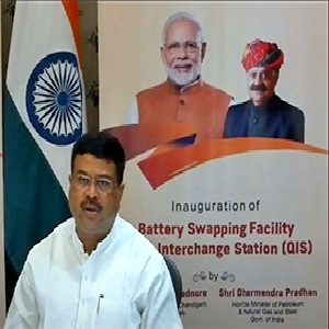 India: IOC inaugurate battery swapping facility for electric vehicles