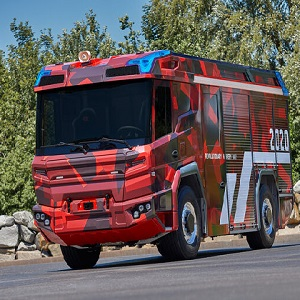 Volvo Penta electric driveline is a game-changer for the fire truck of the future