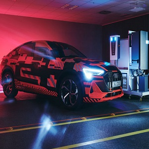 Audi in collaboration with Hager researching bidirectional charging technology