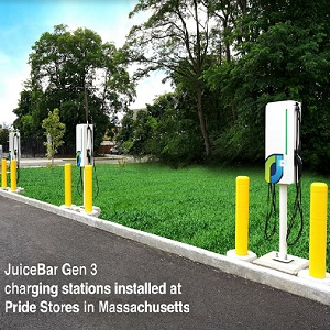 JuiceBar introduces new line of flexible EV chargers; Innovations noted for speed, safety, network options