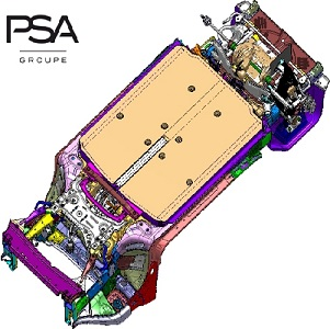 Groupe PSA strengthens its electric offensive with a new eVMP platform (Electric Vehicle Modular Platform)
