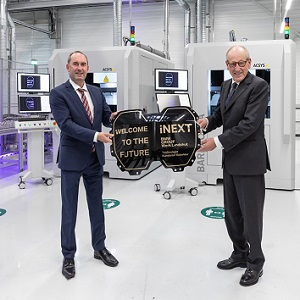 Innovative strength from Lower Bavaria: Production of high-tech components for the BMW iNEXT starts in Landshut