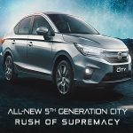 Honda Cars India launches the all new 5th Generation Honda City in India experience 'Rush of Supremacy'