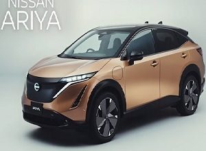 Photo of Nissan introduces the Ariya, a 100% electric crossover