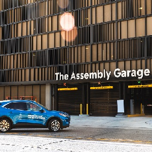 Ford, Bedrock and Bosch announce an automated valet parking garage in Detroit