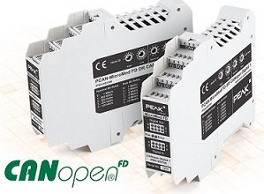 I/O with CANopen and CANopen FD for industrial use