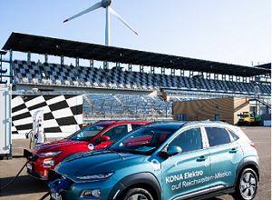 Hyundai KONA electric sets range record of 1,026 Kilometers