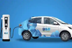 India: Okaya partners with BluSmart for EV charging stations