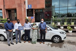 Photo of Tata Motors delivers Tata Tigor EVs to Ministry of AYUSH